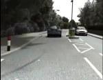 Early test of a CGI hazard perception clip - 2 - YouTube